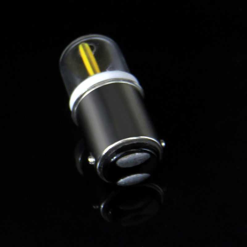 Bombilla LED BA15D regulable 7W AC 12V 220V COB 1511 lámpara LED para máquina de coser candelabro