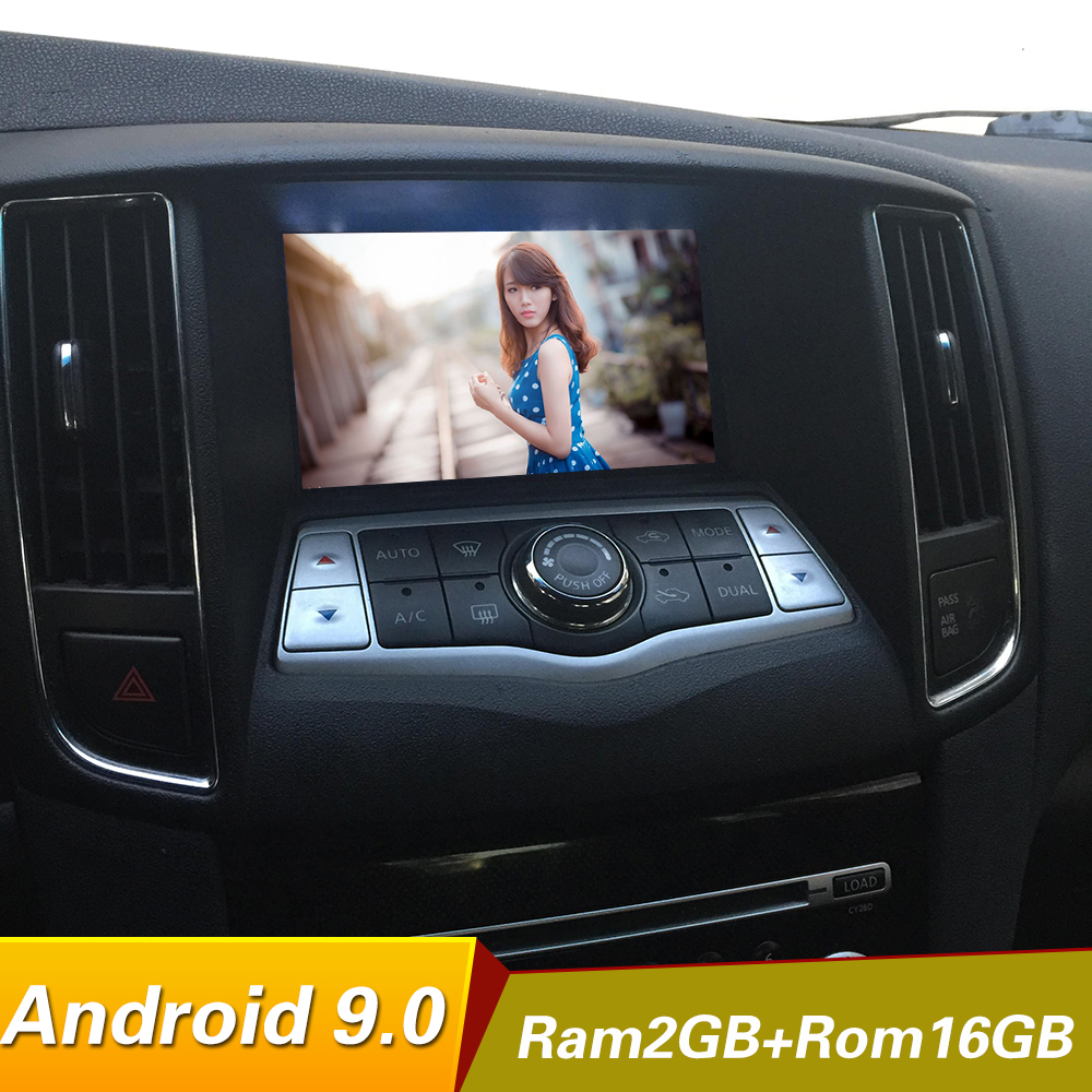 Android 9.0 Quad core 1024*600 Car Dvd Player for nissan maxima A35 2009-2014 radio GPS Stereo BT WIFI mirrorlink multimedia