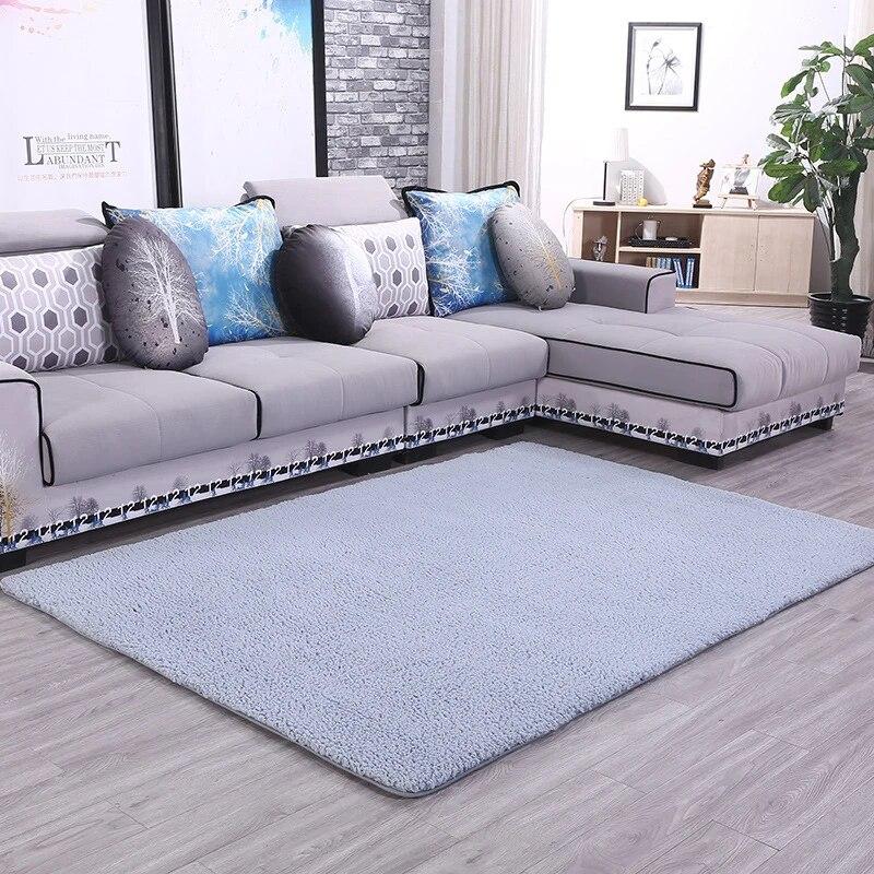 tapis molletonne berbere doux grande surface shaggy pour salon chambre a coucher salle a manger chambre a coucher tapis de sol decoration de