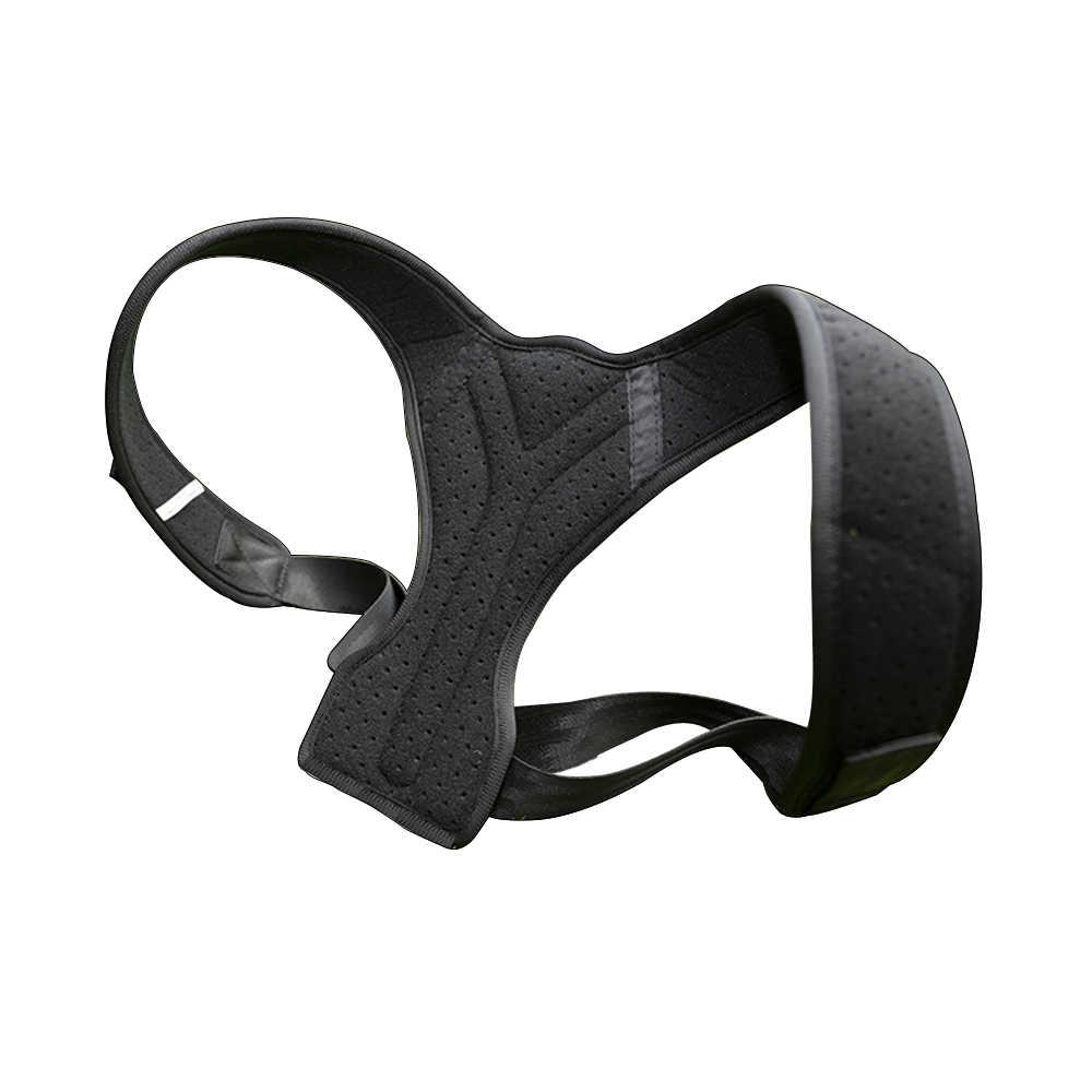 姿勢コレクターバックブレースアジャスタブ姿勢ブレース上限肩疼痛緩和姿勢トレーナー背骨姿勢サポート