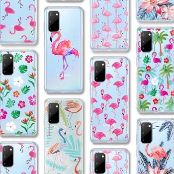 ciciber Flamingo Case For Samsung Galaxy A51 A50 S20 S10 A71 A70 A40 S9 S8 A30 A20 S7 S10e Ultra Note 10 9 8 Edge Plus Silicone karl lagerfeld for samsung galaxy s6 s7 edge s8 s9 s10 plus lite note 8 9 10 a30 a40 a50 a60 a70 m10 m20 phone case cover etui