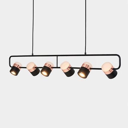 Modern LED Pendant Lights bedroom living room minimalist restaurant pendant Lamp Fixtures Nordic clothing decor Canister light|Pendant Lights| |  - title=