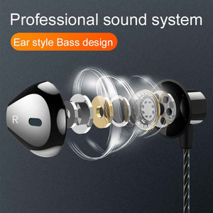 Image 4 - F12 Wired In Ear Earphones Bass Headset Elbow Plug for Convenient Mobile Gaming Movie Sports with Microphone and Wire control