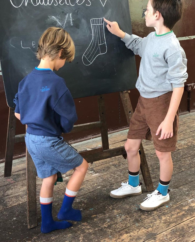 2021 Autumn Winter Baby Newborn Toddler Knee High Floor Sock Kids Geometric Socks  Boys Girls Cotton Tube Socks Bebes New Design 6