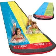 2020 Double Surf Water Slide PVC Inflatable Lawn Water Slides Pools For Kids Backyard Outdoor Water Games Toy Toboggan Aquatique