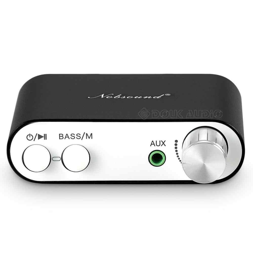 Douk オーディオ NS-10G TPA3116 ミニデジタルアンプステレオハイファイホームオーディオ Bluetooth 4.0 パワーアンプ 50 ワット + 50 ワット黒
