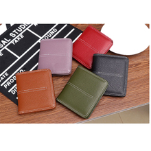 цены MZORANGE Fashion Wallet Women Genuine Leather Small Women Wallets Purse Brand Short Purses Ladies Money Bag with Box men wallets