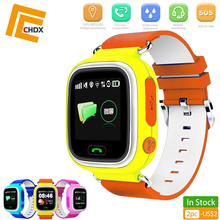 CHDX GPS Child Smart Watch Kids Phone Position Children SOS Waterproof Gift 1.22 Inch Color Touch Screen