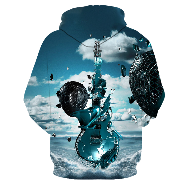 3D Printed Abstract Hoodies Men&Women 22