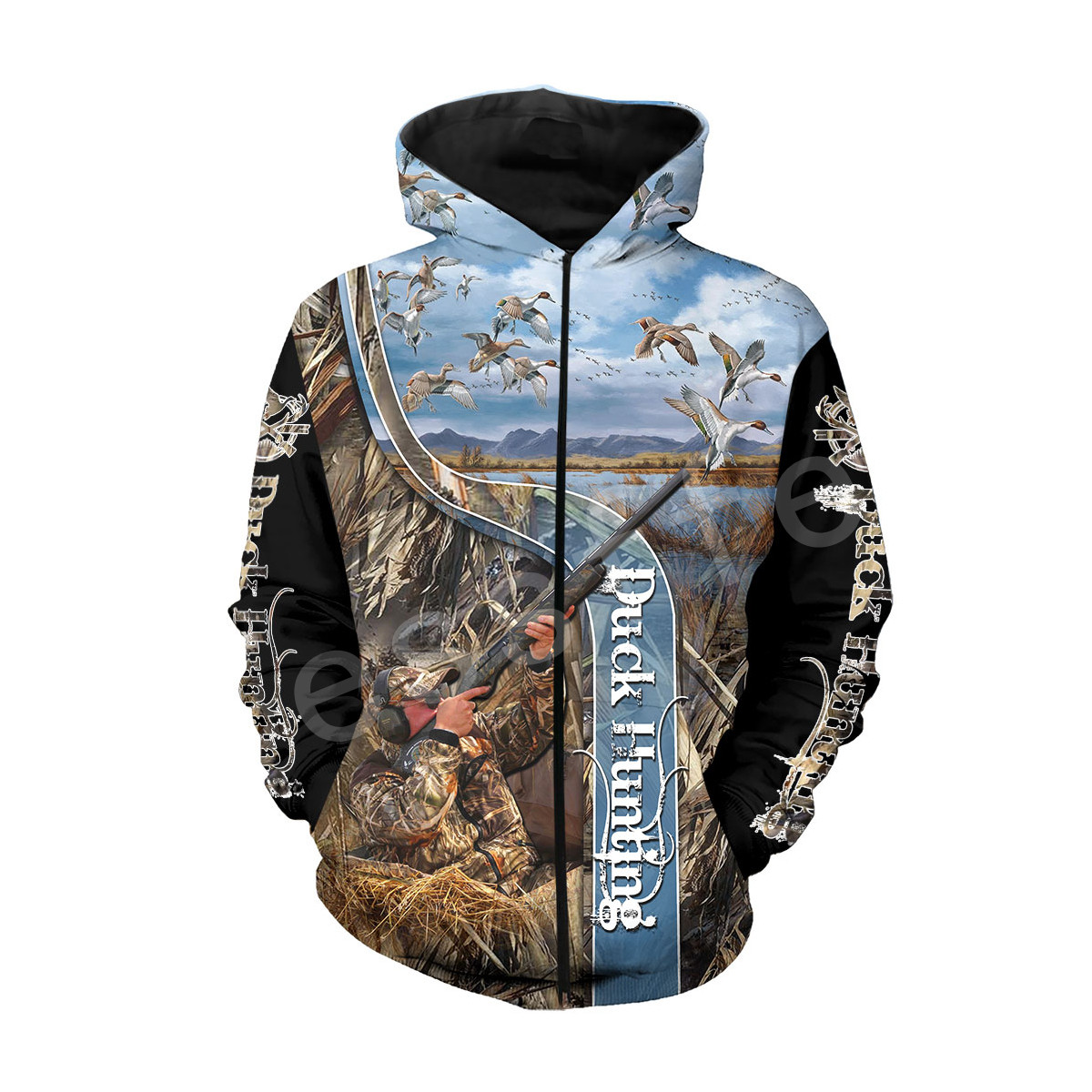 Tessffel Animal Hunter Legend Camo Tracksuit 3DPrinted Hoodie Sweatshirt Jacket shirts Men Women HIPHOP casual Harajuku style15 in Hoodies amp Sweatshirts from Men 39 s Clothing