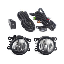 Car Front Driving Fog Lights Lamps Assembly Kit For Suzuki Grand Vitara /SX4 4-Door 4dr Sedan 2006-2012 07 08 09 10 H11 12V 55W(China)
