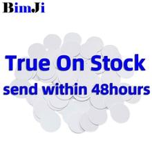 50 Pcs NTAG215 Nfc Card Coin Tag Voor Tagmo Forum Type2 Nfc Tags Ntag 215 Chip 504 Byte Lezen Schrijven gratis Verzending