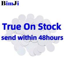 50 stücke NTAG215 NFC Karte Münze Tag Für TagMo Forum Type2 NFC Tags Ntag 215 Chip 504 byte Lesen Schreiben freies Verschiffen