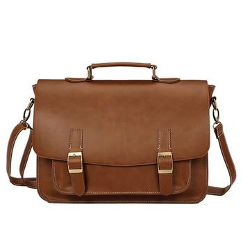 Pu Leather Men's Briefcase