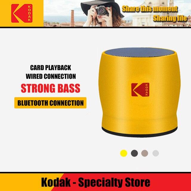 Kodak Bluetooth Speakers Y500 portable speaker Metal Home Wireless Subwoofer altavoz bluetooth Speaker for the computer
