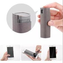 2 в 1 портативный очиститель экрана телефона из микрофибры набор