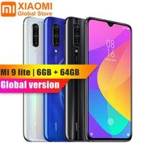 グローバルバージョンシャオ mi mi 9 Lite 6 ギガバイトの RAM 64 ギガバイト ROM 6.39 インチの nfc 携帯電話キンギョソウ 710 急速充電 4030 2600mah のスマートフォン