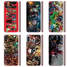 Retro Marvel Luxury High-End Phone Case For LG K50 Q6 Q7 Q8 Q60 X Power 2 3 Nexu