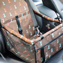 Pet Dog Carrier Car Seat Pad Safe Carry House Cat Puppy Bag Car Travel Accessories Waterproof Dog Seat Bag Basket Pet Products недорого