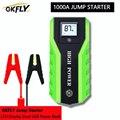 GKFLY  высокая мощность  20000 мА/ч  1000 А  стартер для автомобиля  12 В  пусковое устройство  внешний аккумулятор для автомобиля  зарядное устройств...