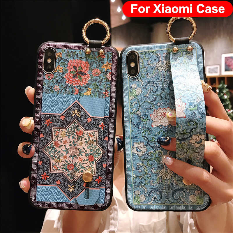 Rất Đẹp 3D Đắp Nổi Ốp Lưng Điện Thoại Redmi Note 7 4X 5A 6 Dành Cho Tiểu Mi Mi 5X6X8 9 K20 Pro A3 Lite Bao Funda Coque