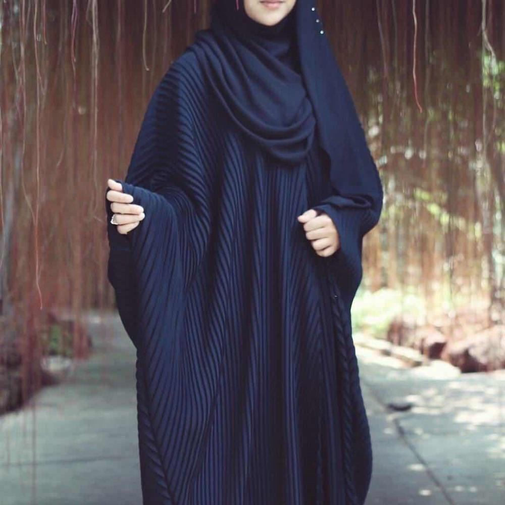 2019 Women Fashion Muslim Abaya Dress Batwing Sleeve Plus Size Maxi Dress Long Robe Gowns Kimono Middle East Ramadan