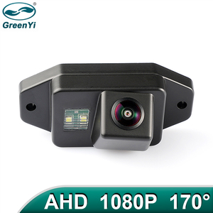GreenYi 170 Degree 1920x1080P HD AHD Vehicle Rear View Reverse Camera For Toyota Land Cruiser 120 Series Toyota Prado Car