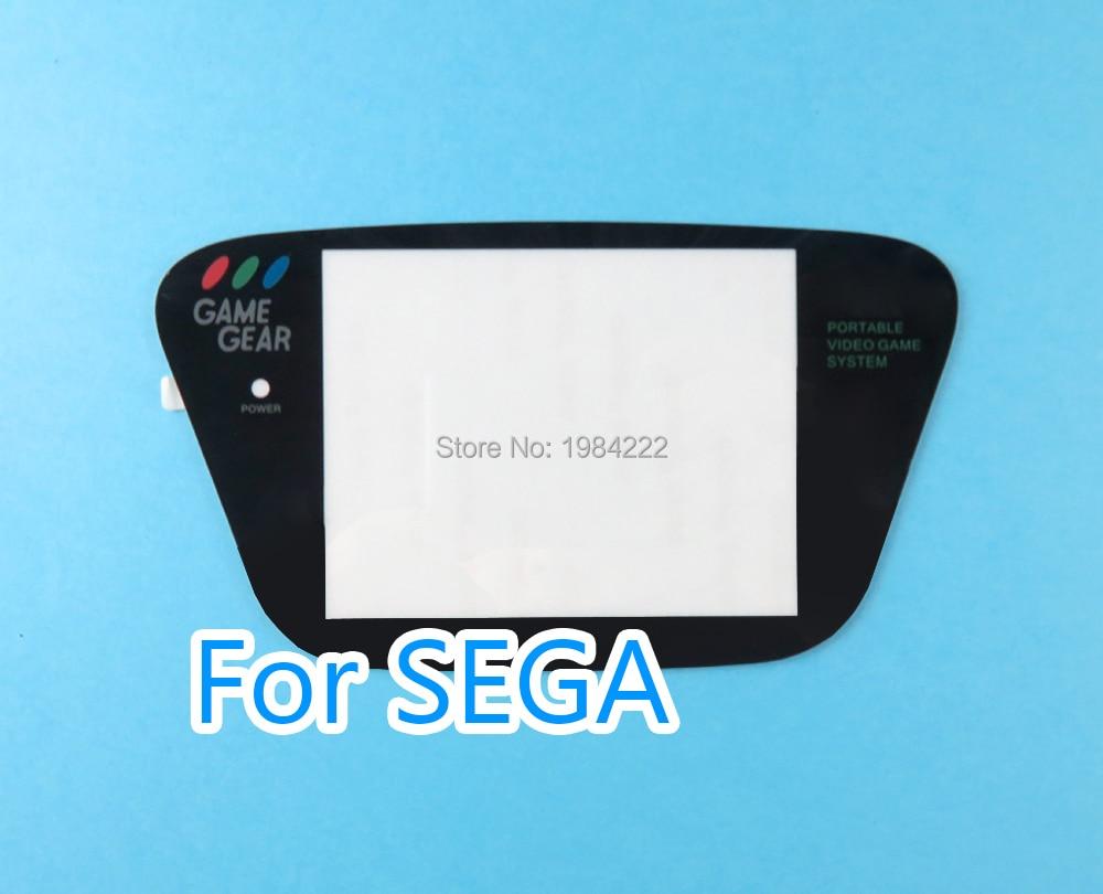 OCGAME Wholesale Black Plastic Screen Lens Screen Cover Lens For Sega Game Gear GG Screen Lens Protector