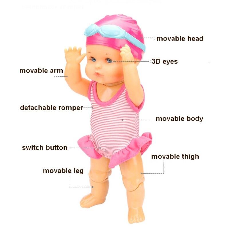 游泳娃娃E 33cm-4