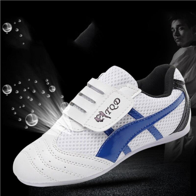 Taekwondo Shoes Soft Sole Martial Arts Training Sneakers Karate Kung Fu Sports Shoes Practice Footwear Women Men Taekwondo Shoes