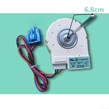 1 шт. морозильник двигатель безщеточного вентилятора DLA5985XQEA DC10.4V 1,6 W для Midea двухдверный холодильник