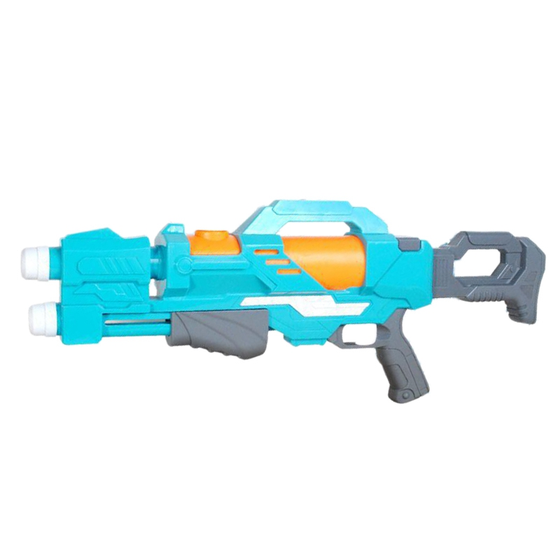 Double Nozzle Pull-Out Children's Water Spray Toys Summer Beach Play Water High Pressure Pump Plastic Water Spray Toy