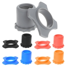 1 Set Silicone Anti Slip Roller Ring Bottom Sleeve Kit For Handheld Microphone 634A