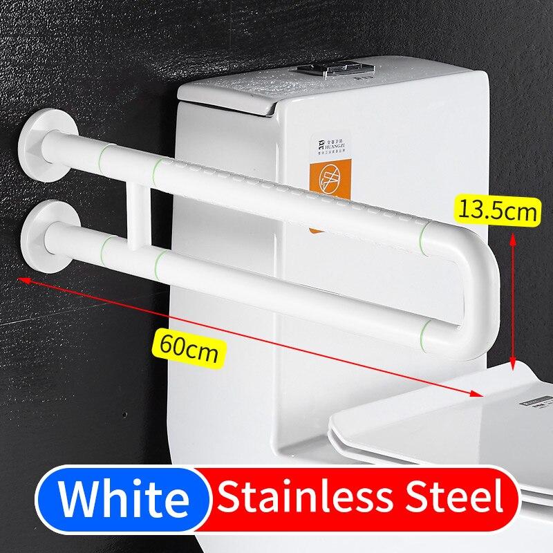 Поручни для туалета, опоры из нержавеющей стали, защитные поручни, поручни для пожилых людей, поручни из нержавеющей стали - Цвет: B-White(5503)