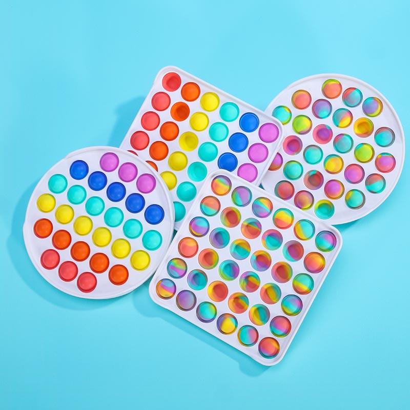 Fidget Toy Antistress-Toys Autism Push Bubble Squishy Children Adult for Jouet Pour img3
