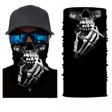 High-Jump Skull Ciclismo Bandana Headwear Tactical Outdoor Headwear Neck Face Shield Bike Bycicle Cycling Bandana Winter Women(China)