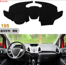 Car dashboard Avoid light pad Instrument platform desk cover Mats Carpets Auto accessories for Ford Ecosport 2013 2014 2015 2016