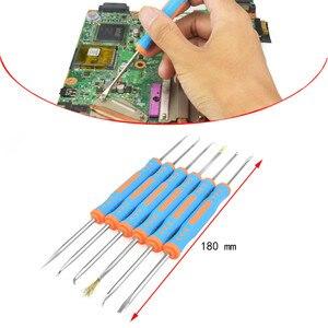 Image 5 - Toolour 80W 220V/110V Adjusting Temp Electric Soldering Iron LCD Digital Display  Welding Repair Tools Carving knife Tool Kit