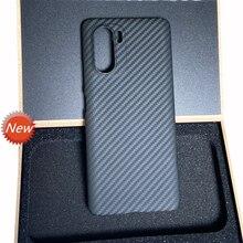 דק אור ארמיד סיבי פחמן מקרה עבור xiaomi redmi POCO F3 K40 K30 פרו F2 טלפון פגוש פגז
