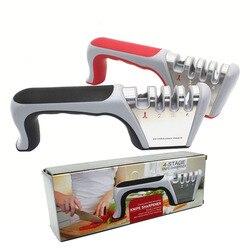 Multi temperówka uchwyt ABS ostrze ostrzałka stal wolframowa nożyczki ostrzałka do noży kamień do ostrzenia kuchni ze stali nierdzewnej