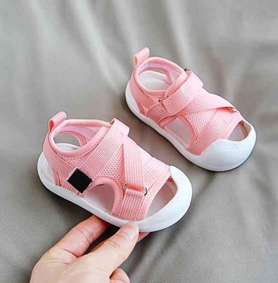 Children's Sandals High Quality Kids Shoes Baby Boys Girls Patchwork Summer Beach Sport Sandals Baby Toddler Shoes Sneakers