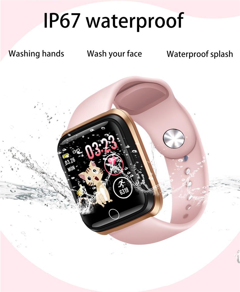 Reloj inteligente LIGE pulsera deportiva IP67 5