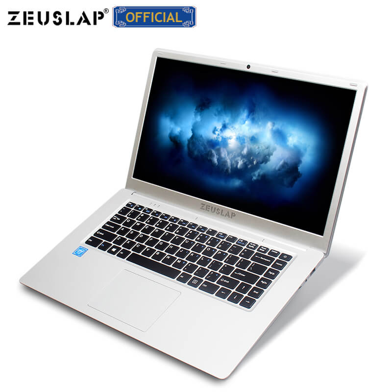 15.6inch 4GB Ram 64GB EMMC 1920*1080P Intel Quad Core Windows 10 System Laptop Notebook Computer