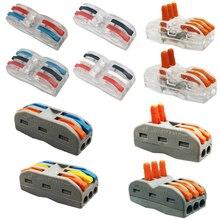 Connettore del cavo mini veloce connettore di alimentazione Universale Compact Cablaggio del Connettore, Terminale filo blocco plug in connettore del terminale