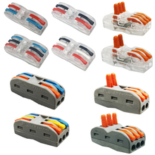 Draad Connector Mini Snelle Power Connector Universele Compacte Bedrading Connector,Terminal Draad Block Plug In Connector Terminal