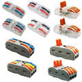 wire connector mini fast power connector Universal Compact Wiring Connector,Terminal wire block plug in connector terminal