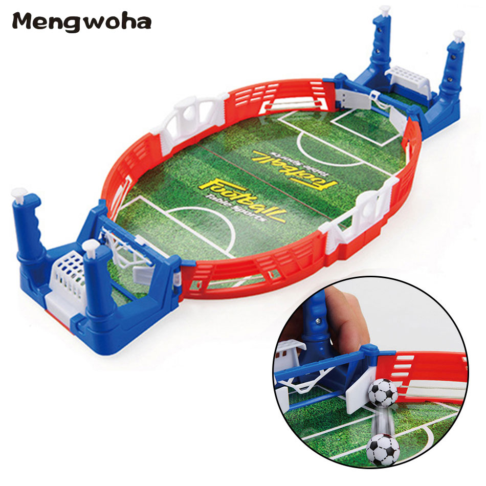 Mini Tabletop Soccer Game Desktop Football Sport Match Machine Educational Double Battle Puzzle Board Party Game Toys For Kid