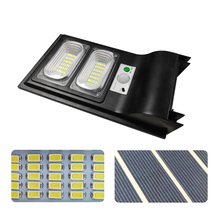 Outdoor LED Solar Street Light 40W Garden Wall Lamp 3 Working Modes PIR Motion Sensor Path Light with Remote Controller