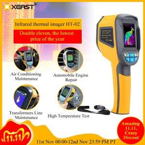 Image 1 - Точная тепловизионная камера Инфракрасный термометр измеритель 20 ~ 300 градусов HT 02 2,4 дюймов цветной экран высокого разрешения в наличии