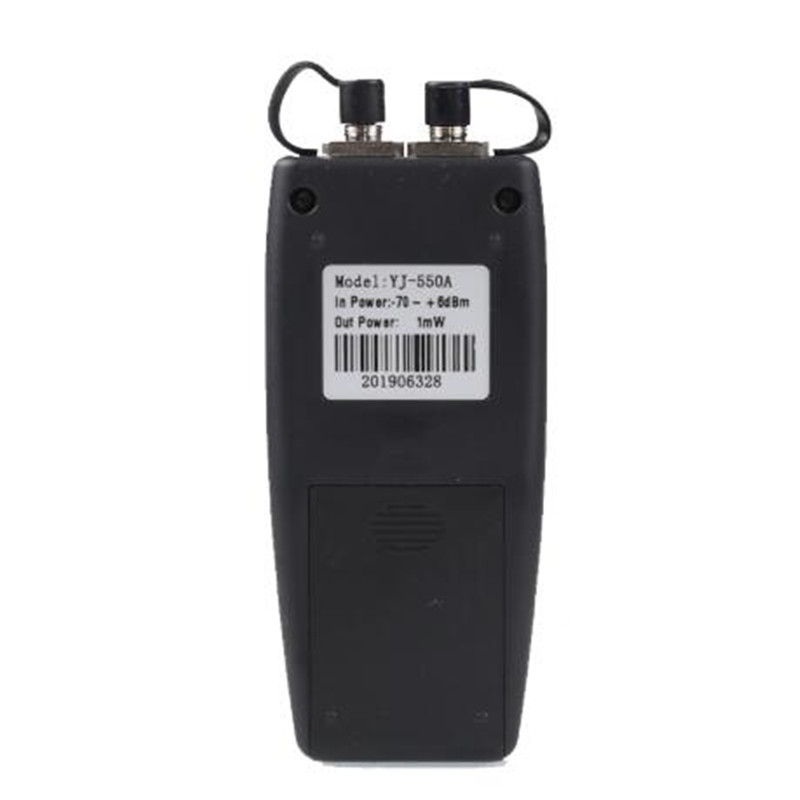 70 дБм ~ + 6 дБм 1-50 мВт VFL YJ-550A оптоволоконный мини оптический измеритель мощности с визуальным детектором неисправности